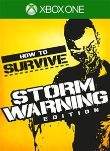 How to Survive Storm Warning box art