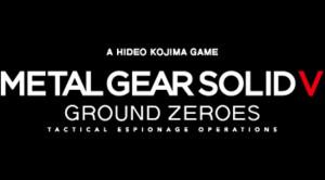Metal Gear Solid V Ground Zeroes logo