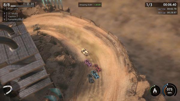 Mantis Burn Racing screen