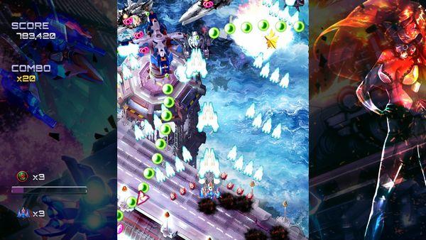 Ghost Blade HD screen