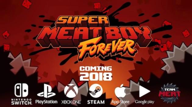 Super Meat Boy Forever Header Image