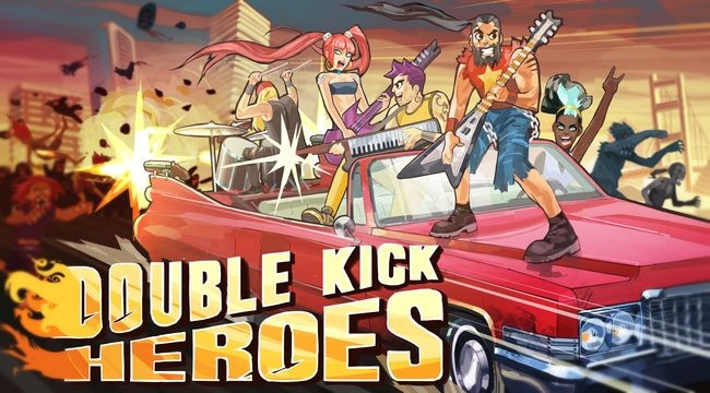 Double Kick Heroes logo