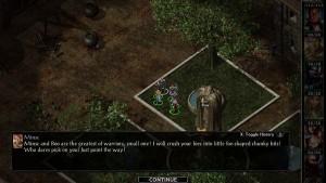Baldur's Gate screen