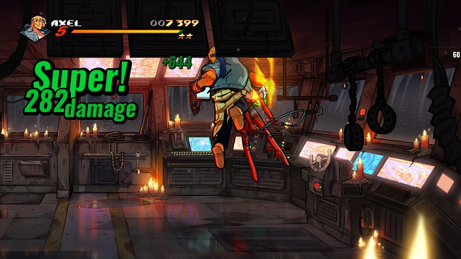 streets of rage 4 bridge leather punch
